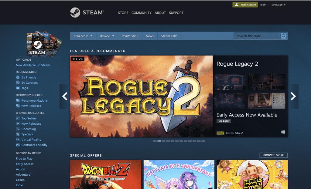 להוריד פול גייס במחשב דרך Steam